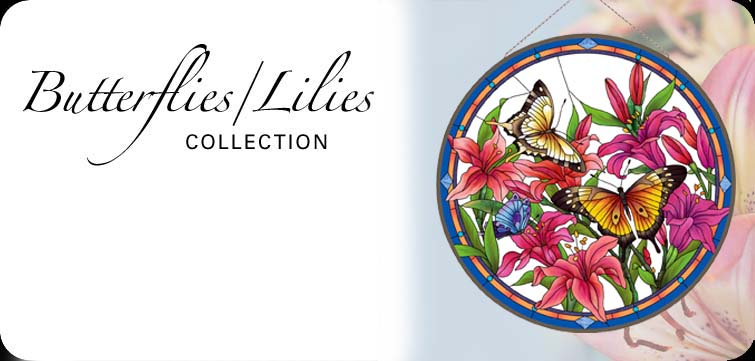Butterflies Lilies Collection
