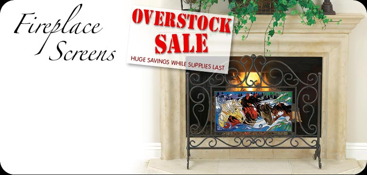 Hand painted glass art fireplace screens make perfect gifts and home fireplace screens teraionfo