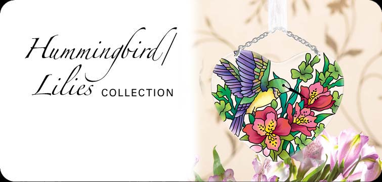 Hummingbird/Lilies Collection