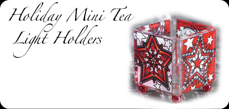 Holiday Mini Tea Light Holders