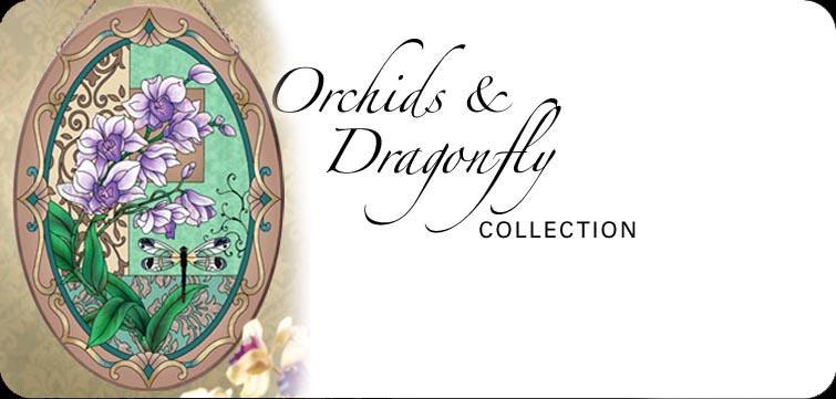 Orchids Dragonfly Collection