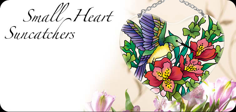 Suncatchers Small Hearts