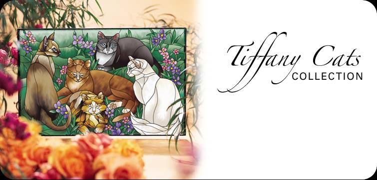 Tiffany Cats Collection