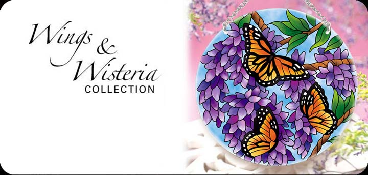Wings & Wisteria Collection