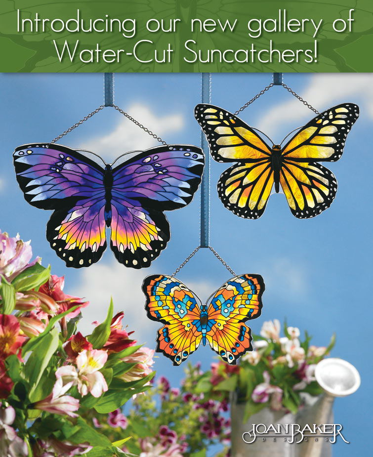 Water-cut Suncatchers