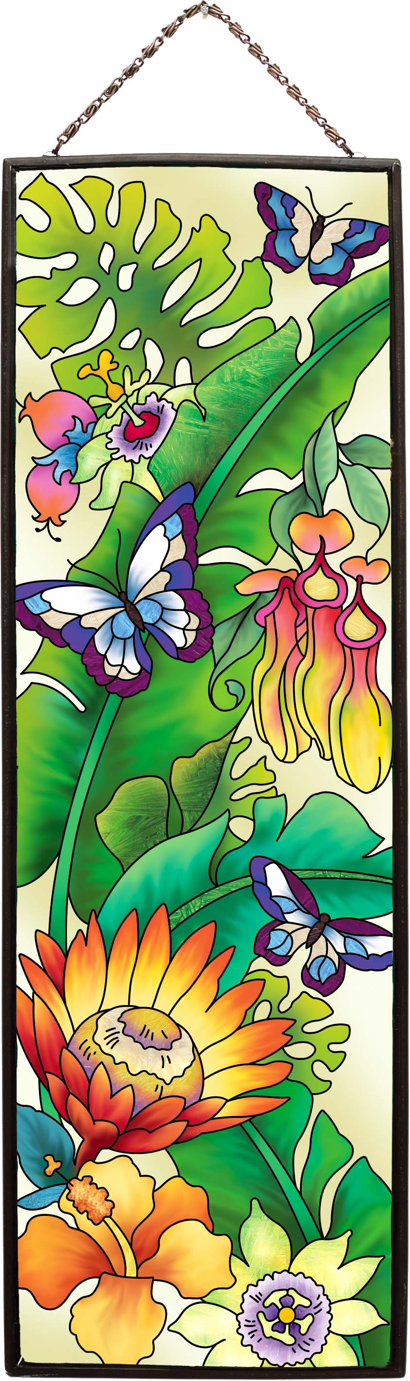 Art Panel-AP241-Rainforest Floral - Rainforest Floral