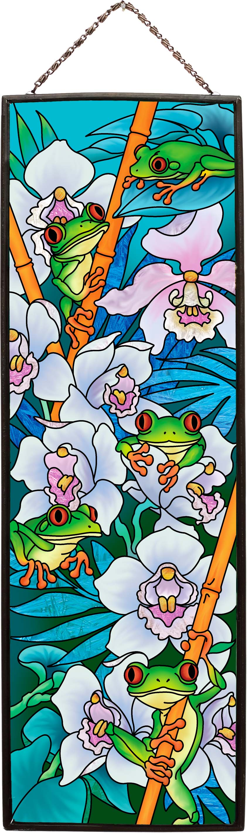 Art Panel-AP242-5 Tree Frogs - Tree Frogs