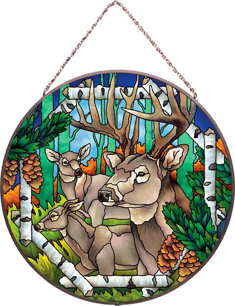 Art Panels-AP4011R-Deer - Deer