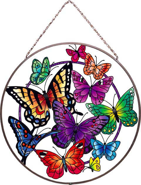 Art Panel-AP492R-Butterflies - Butterflies