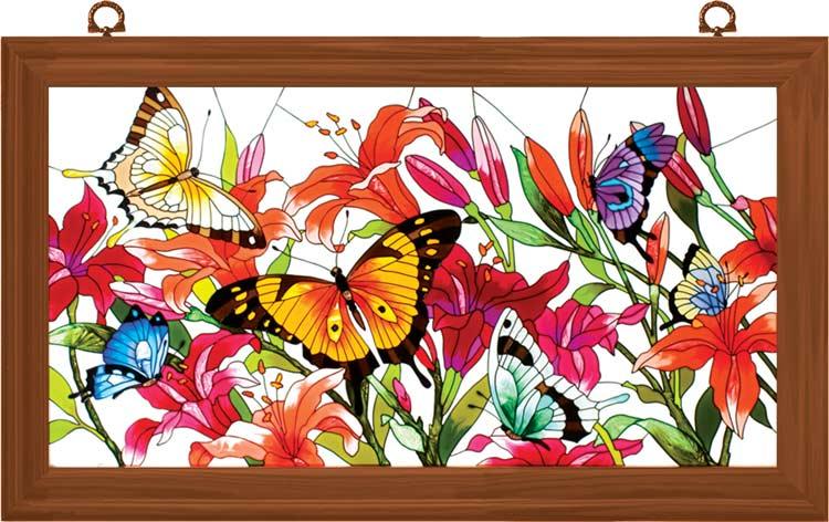 Декоративное художественное стекло. Арт панели и каминные экраны 12335