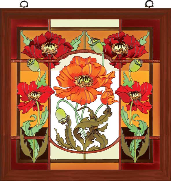 Декоративное художественное стекло. Арт панели и каминные экраны 63495