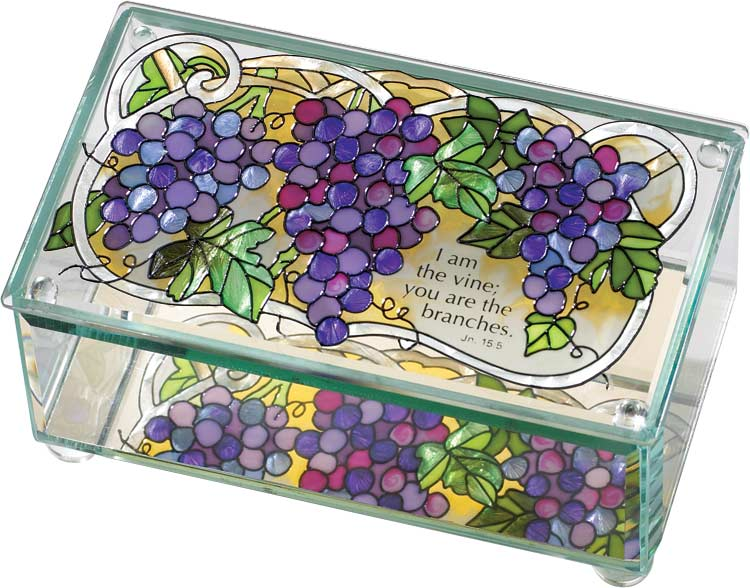 Box-BAB2012-Grape Arbor/I am the vine... - Grape Arbor/I am the vine; you are the branches. Jn. 15:5