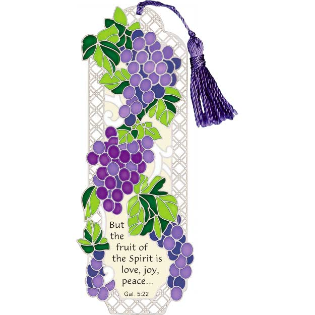 Bkmk/Magnt-BMM2512-Grape Arbor/But the fruit... - Grape Arbor/But the fruit of the Spirit is love, peace and joy.