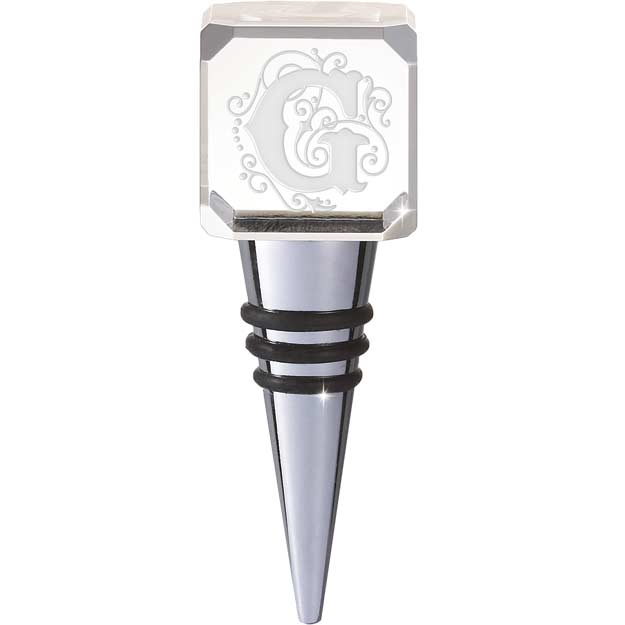 Crystal-CYB-G-Crystal Bottle Stopper - G - Crystal Bottle Stopper - G