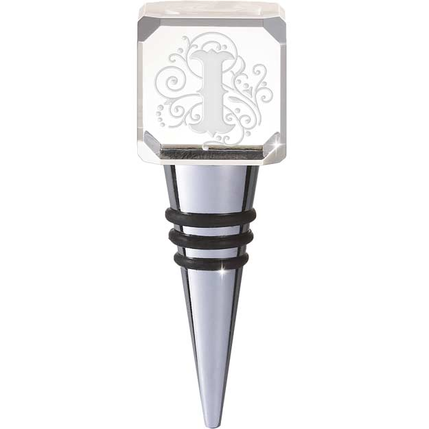 Crystal-CYB-I-Crystal Bottle Stopper - I - Crystal Bottle Stopper - I