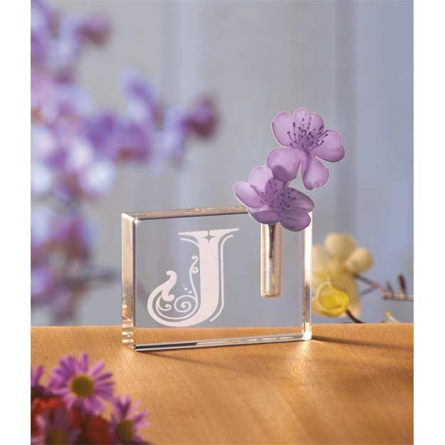 Crystal Cyv M Crystal Block Vase M Joan Baker Designs