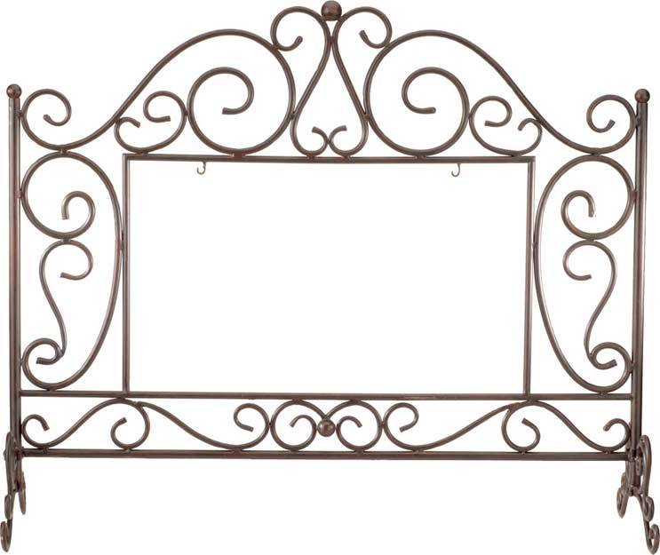 FSS201-Rectangular Fireplace Screen - Rectangular Fireplace Screen