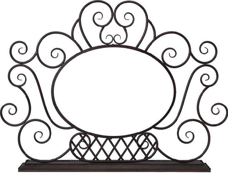 FSS401B-FireplaceScreen/HorizOval - FireplaceScreen/HorizOval