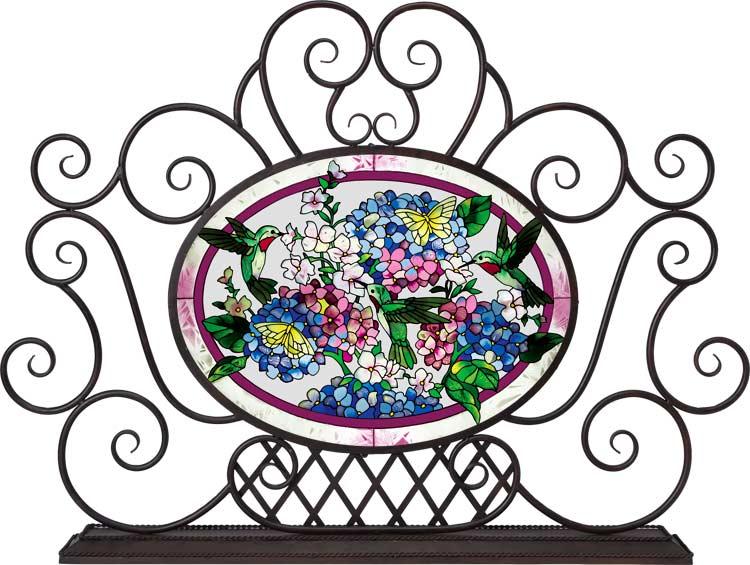 Декоративное художественное стекло. Арт панели и каминные экраны 99155