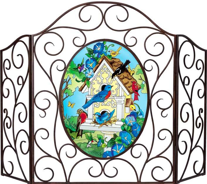 Декоративное художественное стекло. Арт панели и каминные экраны 24696