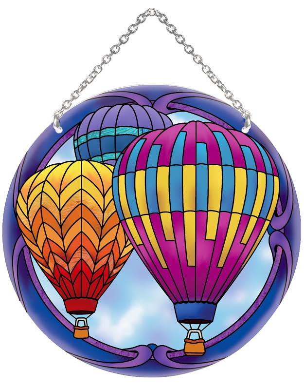 Suncatcher-LC082R-Hot Air Balloons - Hot Air Balloons
