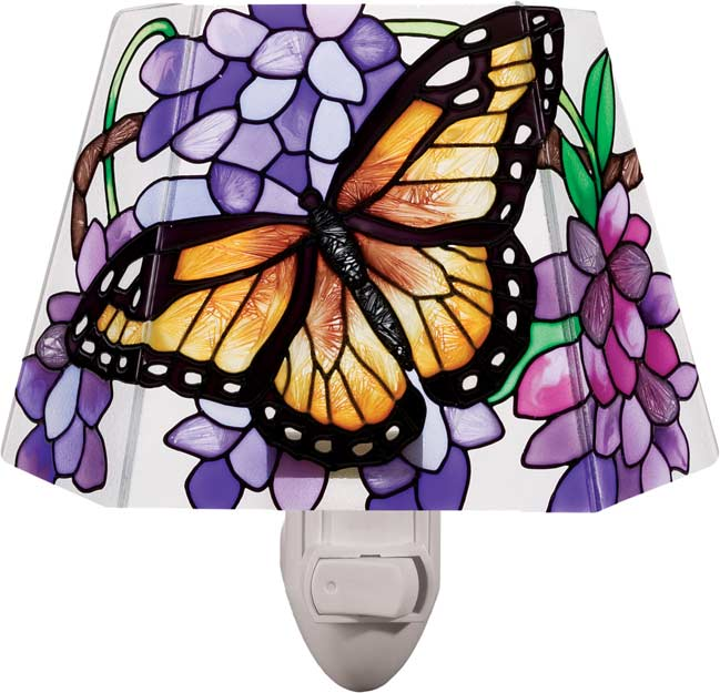 Nightlight-NL927-Wings & Wisteria - Wings & Wisteria