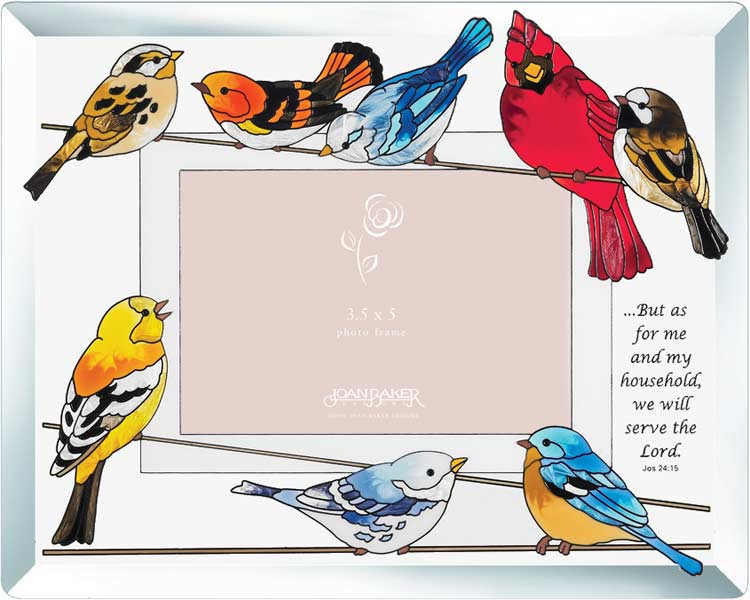 Photoframe-PFB3527-Birds on a Wire//...but as for - Birds on a Wire//...but as for