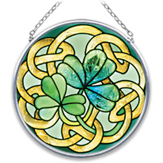 Suncatcher-SC070-Irish Tiffany - Irish Tiffany