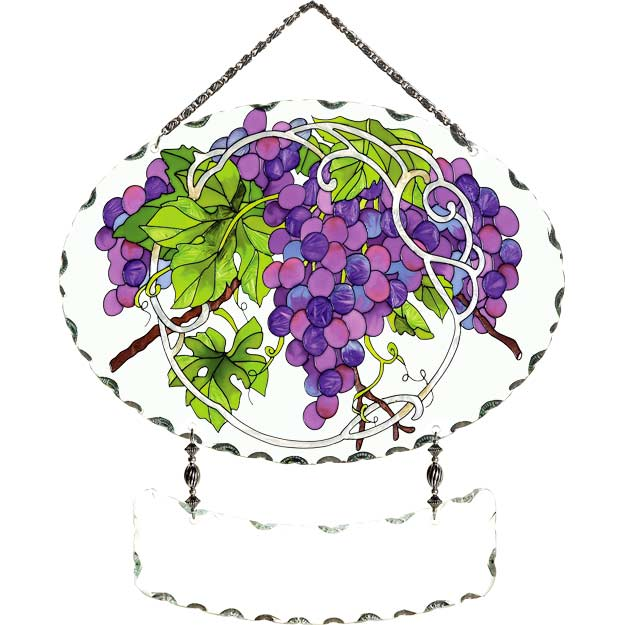 Suncatcher-SFS1005-Grape Arbor - Grape Arbor