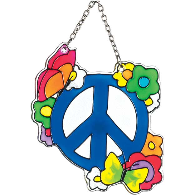 Suncatcher-SSA1020-Peace Sign - Peace Sign