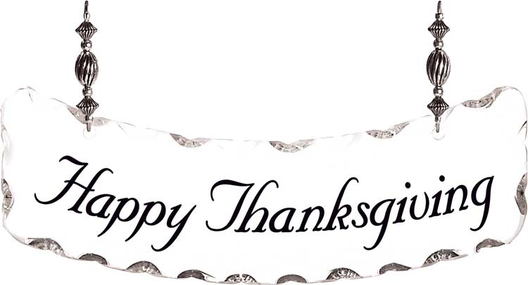 Suncatcher-SSN1046-Happy Thanksgiving - Happy Thanksgiving