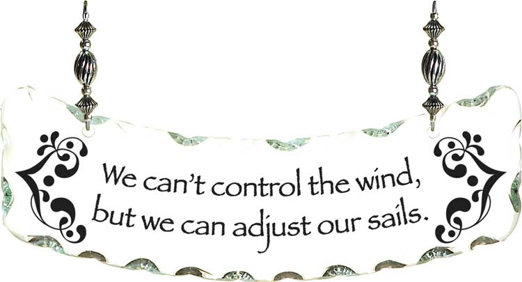 Suncatcher-SSN1054-We can't control the wind, but - We can't control the wind, but