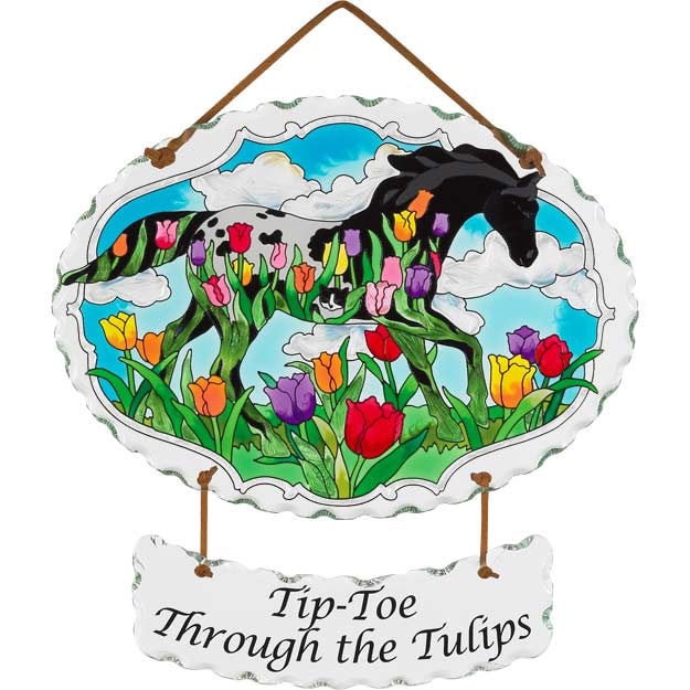 Suncatcher-SWSPP015-Tip-Toe Through the Tulips - Tip-Toe Through the Tulips