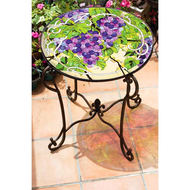 Art Table-TA509B-Grape Arbor - Grape Arbor