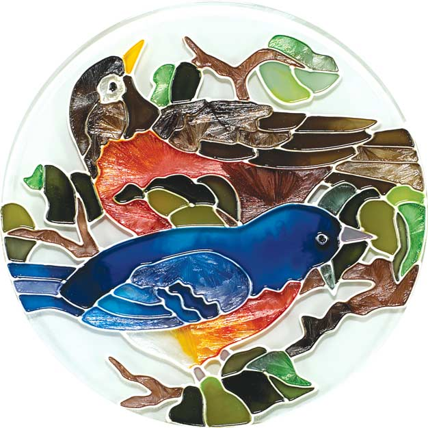 Coaster Set-TCS001-Birds of a Feather - Birds of a Feather