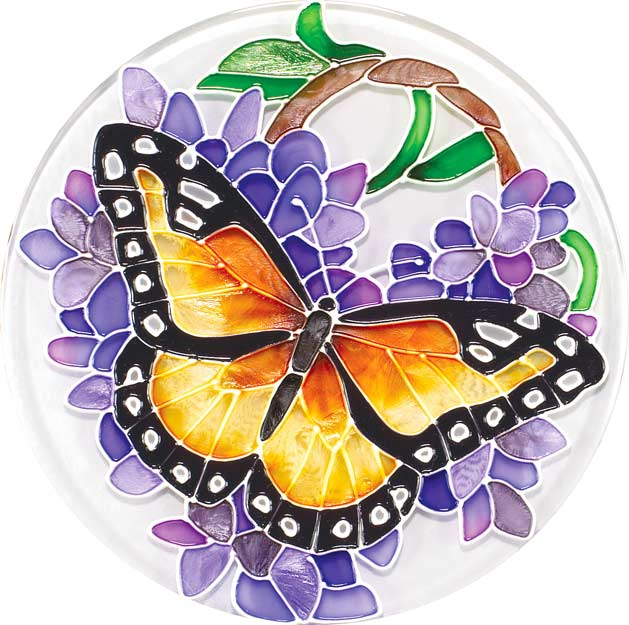 Coaster Set-TCS006-Wings & Wisteria - Wings & Wisteria