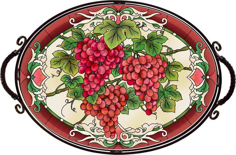 Tray-TR301R-Red Grapes - Red Grapes