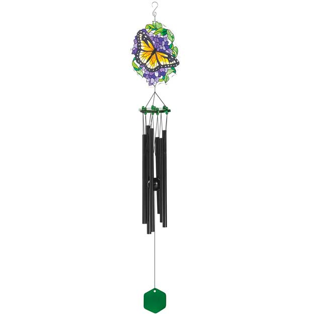 Windchimes-WCH303-Monarch & Wisteria - Monarch & Wisteria