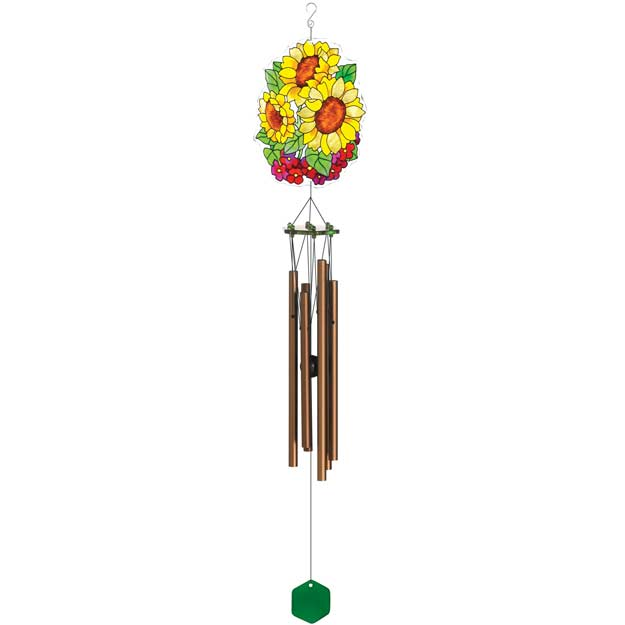 Windchimes-WCH504-Sunflowers - Sunflowers