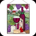 Art Panel-AP125R-Wine & Cheese - Wine & Cheese