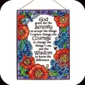 Art Panel-AP140R-Pop Floral/Serenity Prayer - Pop Floral/Serenity Prayer