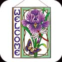 Art Panels-AP146R-Purple Iris//Welcome - Purple Iris//Welcome