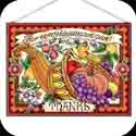 Art Panels-AP149R-Cornucopia//For every blessing - Cornucopia//For every blessing