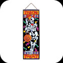 Art Panel-AP238-Friendly Skeleton/TRICK or TREAT - Friendly Skeleton/TRICK or TREAT