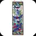 Art Panel-AP248R-Hummingbird Tapestry/May the God of Hope? Rom 15:13 - Hummingbird Tapestry/May the God of Hope fill you with all the joy and peace as you trust in Him? Rom 15:13