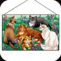 Art Panel-AP302R-Tiffany Cats - Tiffany Cats