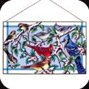 Art Panel-AP373R-Snow Birds - Snow Birds