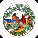 Art Panel-AP473R-Birds of a Feather - Birds of a Feather