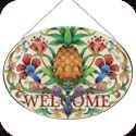Art Panel-AP701R-Welcome Pineapple/WELCOME - Welcome Pineapple/WELCOME
