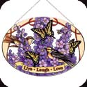 Art Panels-AP730R-Swallowtails & Larkspur//Live- - Swallowtails & Larkspur//Live-